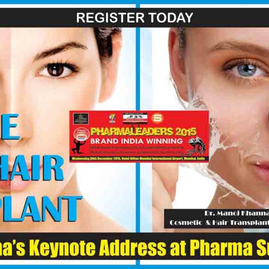 Celebrity Cosmetic & Hair transplant Surgeon Dr  Manoj