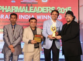 "Akumentis Healthcare awarded as ""India's Most Watched Company of the Year 2015"" at Pharma Leaders Annual Meet 2015"