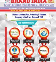 Maithili Life Sciences, TCG Lifesciences, Sipra labs, HINQ Pharma-CRO, Auriga Research, Edenwell Therapeutics are in the race for the coveted Pharma Leaders Most Promising & Valuable Company in Contract Research 2018