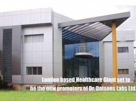 London based Healthcare Giant set to be the new promoters of Dr. Datsons Labs Ltd