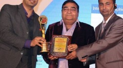 Noted Plastic Surgeon Dr. Debraj Shome voted as India's Most Promising Face In Plastic Surgery Innovations 2015 at ILC Power Brand 2015