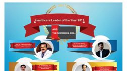 Dr. Shuchin Bajaj,Prof. Dr. C Mohamed Ashraf,Dr. Hrishikesh D. Pai, Dr.Dharminder Nagar, Dr. Sourabh Welling, Dr.S Gurushankar  are in the race for the prestigious Healthcare Leader of the Year 2017 at Nation's Biggest Pharma Leaders healthcare award