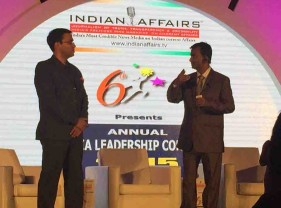 Top Leaders & Emerging Shining Stars felicitated at India Leadership Conclave 2015