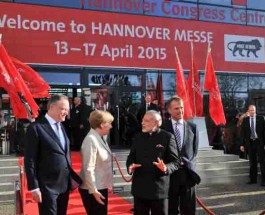 Prime Minister Modi pitches hard for Make in India Campaign at Hannover Messe