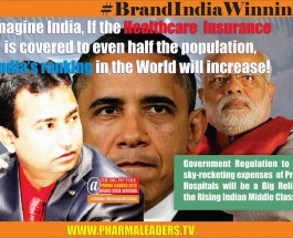 Imagine India, If the Healthcare  Insurance  is covered to even half the population,  India's ranking in the World will increase!
