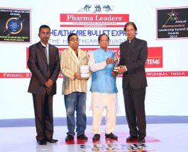 Odisha Minister of Food Supplies & Consumer Welfare Surjya Patro conferred Pharma Leaders 2017 Power Brand Awards to healthcare Leaders in Mumbai