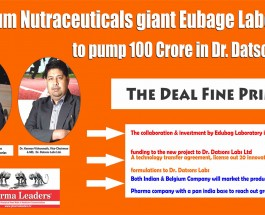 Belgium Nutraceuticals giant Eubage Laboratory to pump 17 Million US $ in Dr. Datsons Labs Ltd