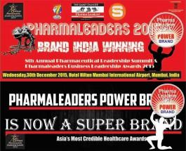 "Pharma Leaders 2015 Edition to debate on  ""Brand India Winning"""